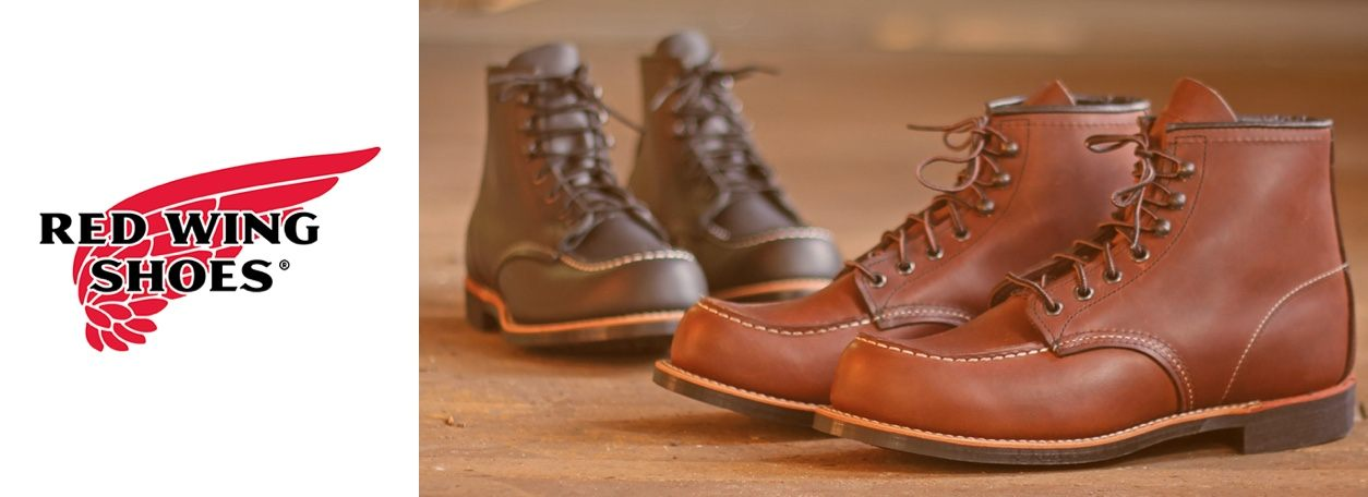 Two pairs of Red Wing Shoes