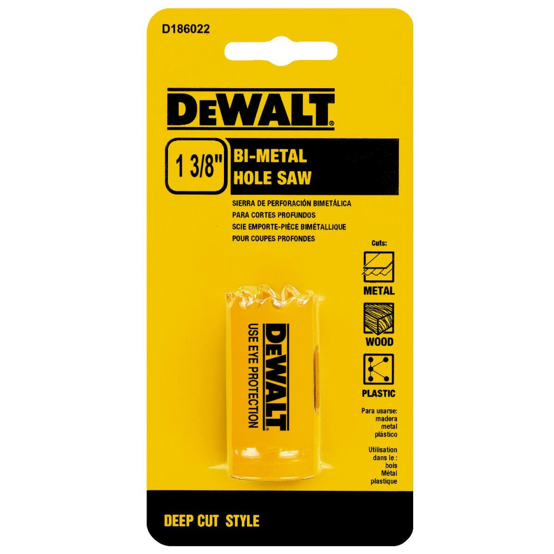 DeWalt 1-3/8 In. Bi-Metal Hole Saw Image 1