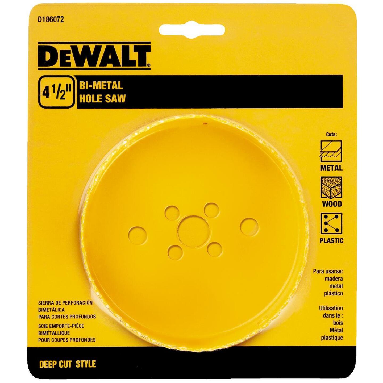 DeWalt 4-1/2 In. Bi-Metal Hole Saw Image 3