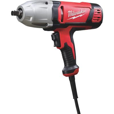 Milwaukee 1/2 In. Impact Wrench with Rocker Switch and Detent Pin