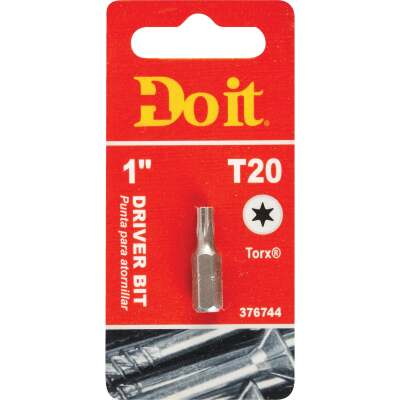 Do it T-20 TORX 1 In. Insert Screwdriver Bit