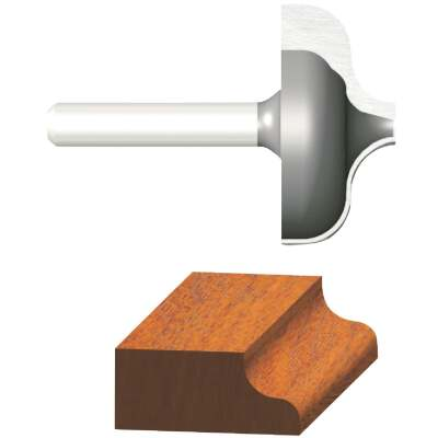 Vermont American Ogee Carbide Tip 1/4 In. Ogee Bit