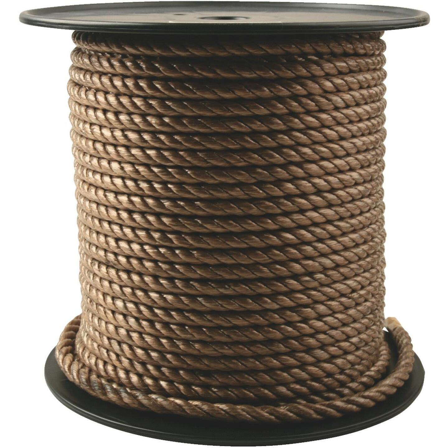 Do it 3/8 In. x 300 Ft. Brown Twisted Unmanila Polypropylene Rope Image 1