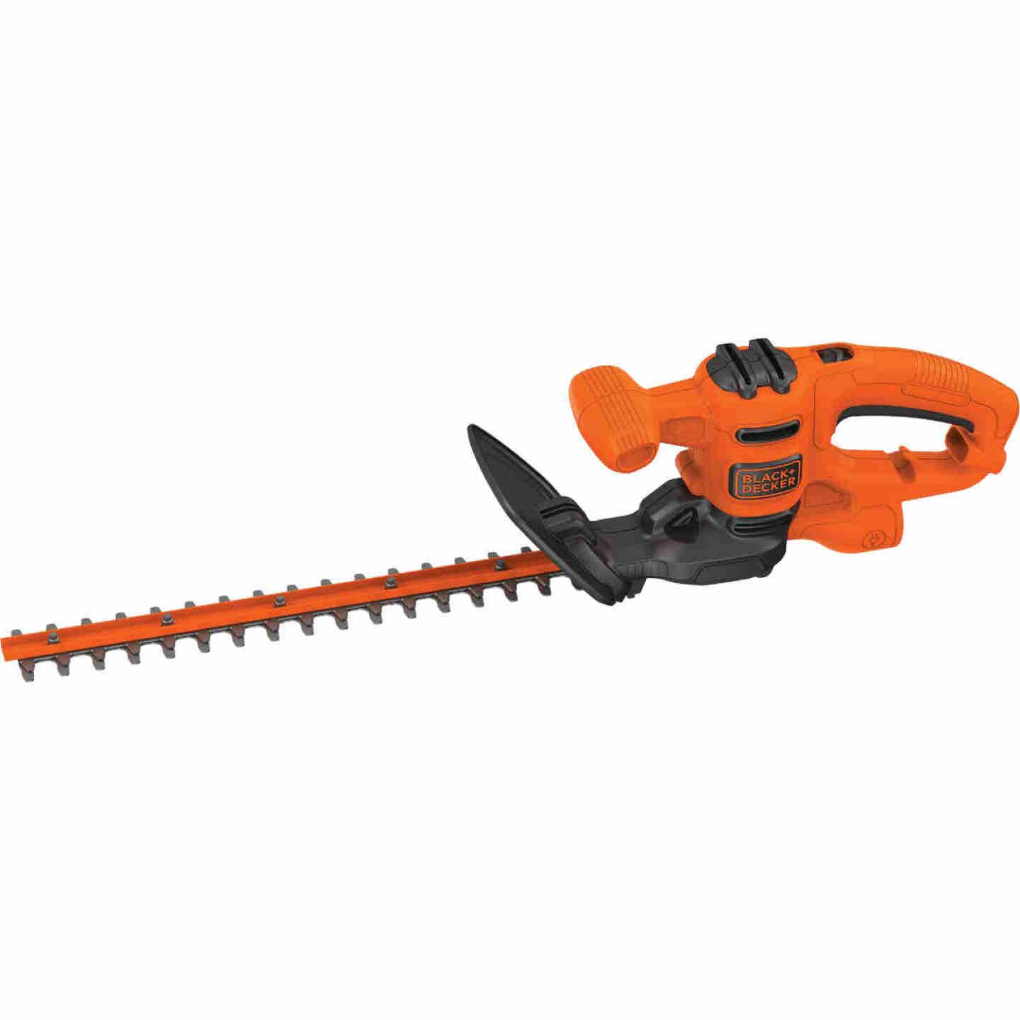 Black & Decker 16 In. 3A Corded Electric Hedge Trimmer Image 1