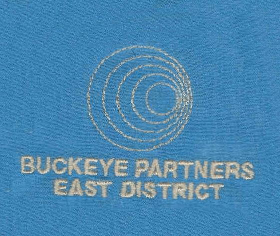 Buckeye Partners East District logo embroidered